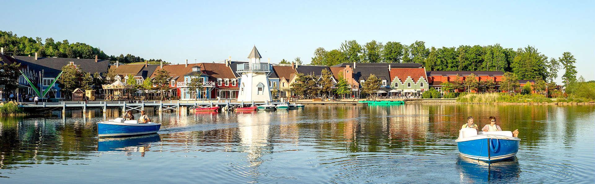 Week-end en cottage premium jusqu'à 4 personnes au Center Parcs Domaine de l'Ailette (7 nuits)