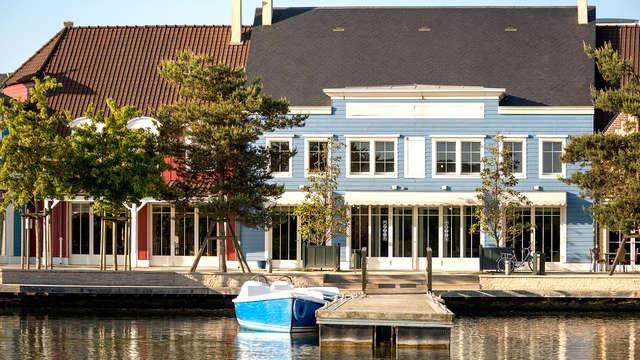 Minivakantie in luxe huisje tot 4 personen in Centre Parcs Domaine de l'Ailette (2 nachten)