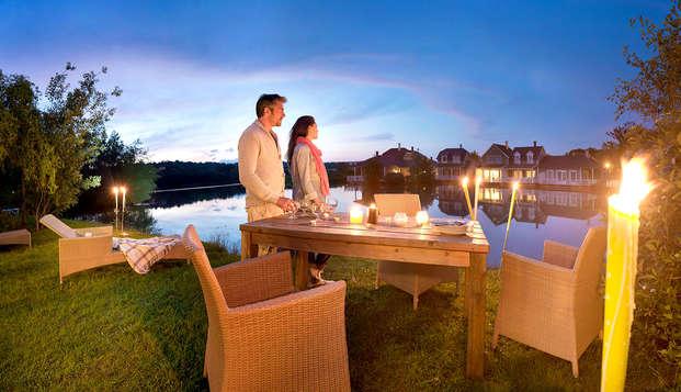 Verblijf in een luxe huisje voor 6 personen in Centre Parcs Domaine de l'Ailette (3 nachten)