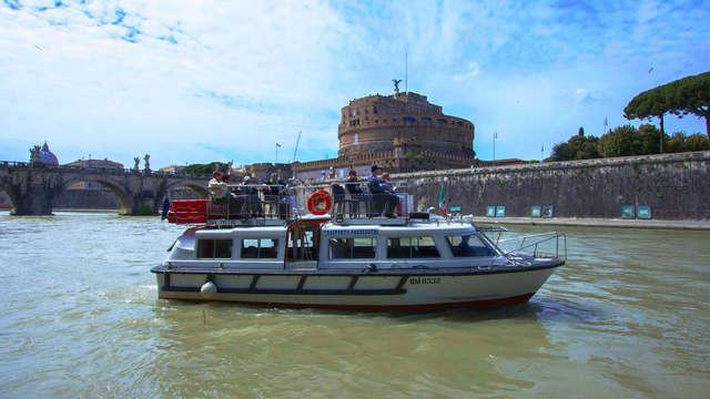Gita sul Tevere alla scoperta dell'antica Roma