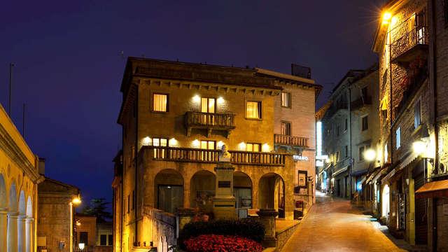 Haz una escapada de diversión a San Marino con entrada a Mirabilandia incluida