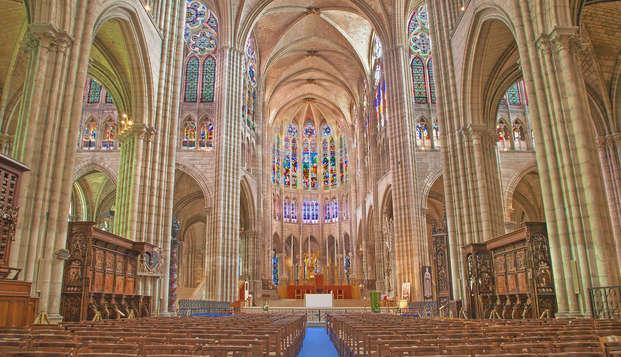 Weekend in de voetsporen van de Franse vorsten met toegang tot de Basiliek-Kathedraal van St-Denis