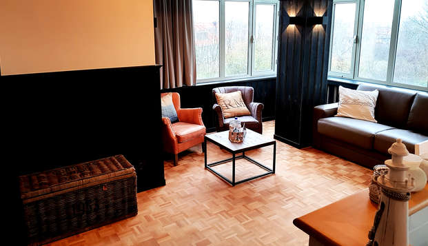 Nuitée dans une suite élégante et luxueuse à Westende (à partir de 2 nuits)