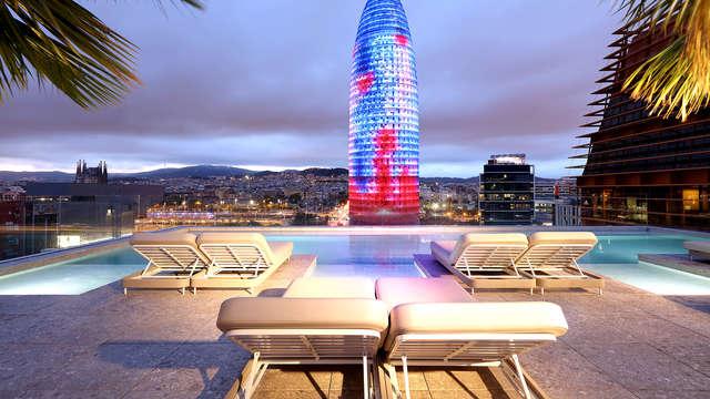 Escapada romántica en Barcelona con mucho glamour y unas vistas mágicas de Barcelona
