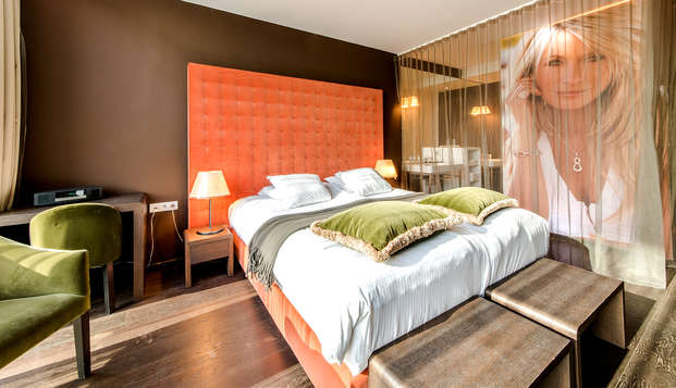 Geniet van wellness in een prachtig design hotel in Kortrijk