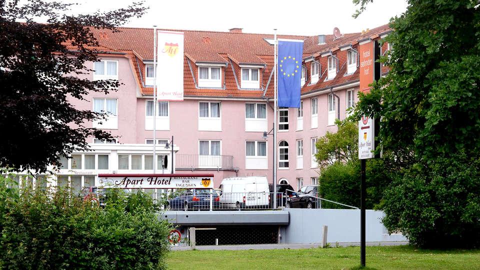 Week end citytrip sehnde avec demi pension pour 2 adultes for Week end appart hotel