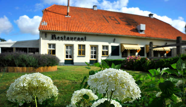 Diner in de 7 Bergsche Hoeve nabij de prachtige Biesbosch