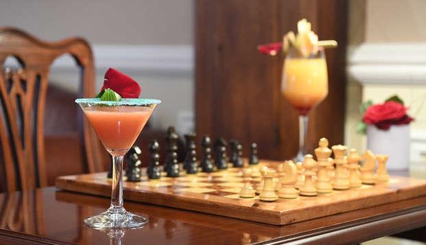 Weekend en amoureux spécial Saint Valentin avec Cocktails création