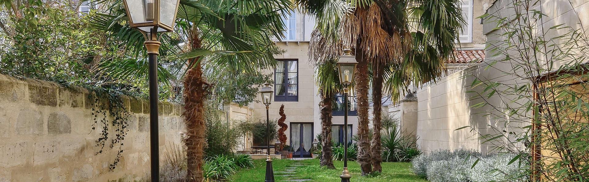 Escapade romantique en suite prestige à Bordeaux