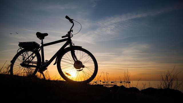 Samen fietsen langs de kustlijn inclusief heerlijk lunchpakket