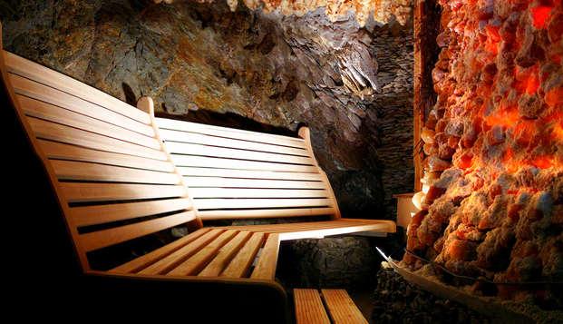 Bien être et gastronomie au bord du lac de Butgenbach, avec traitement en grotte de sel (apd 2n)