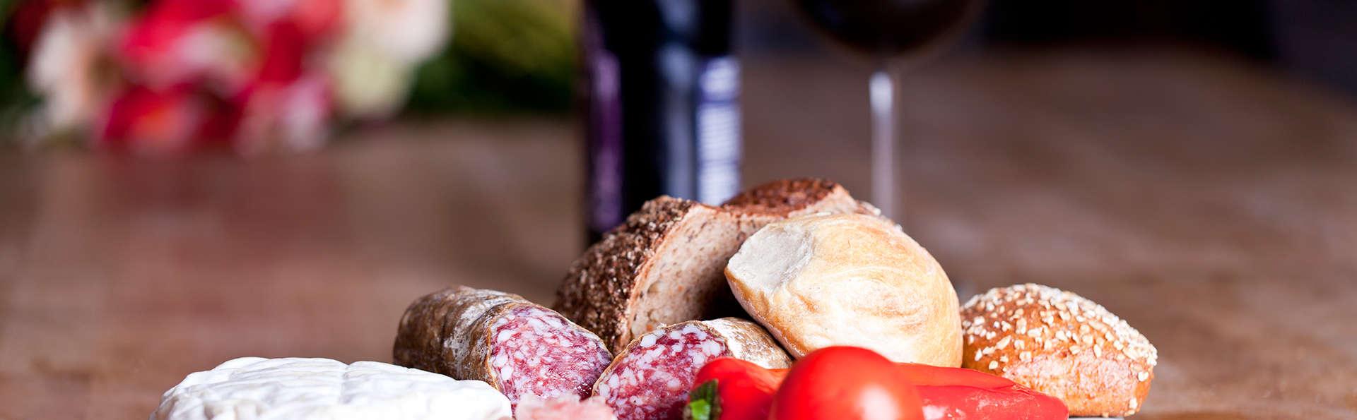 Expérience gourmet, avec chambre dans une superbe auberge située sur les Alpes ligures