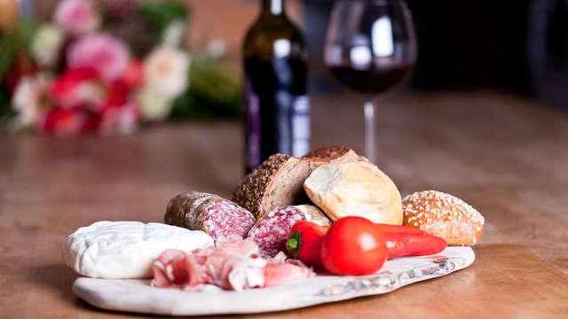 Esperienza gourmet in camera in bellissimo albergo diffuso sui monti luguri!