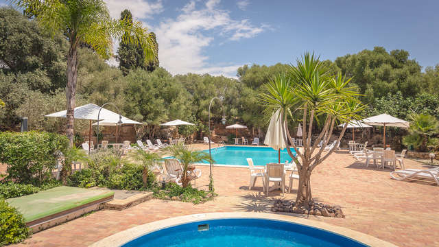 Estancia rural en Castelvetrano, rodeado de naturaleza y degustación de productos locales