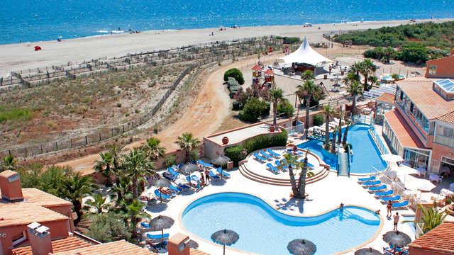 Face à la Méditerranée à Saint-Cyprien