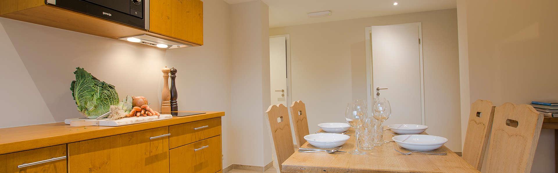 Séjournez dans un élégant appartement dans la campagne wallonne