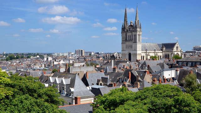 Evasion dans la capitale historique de l'Anjou, Angers