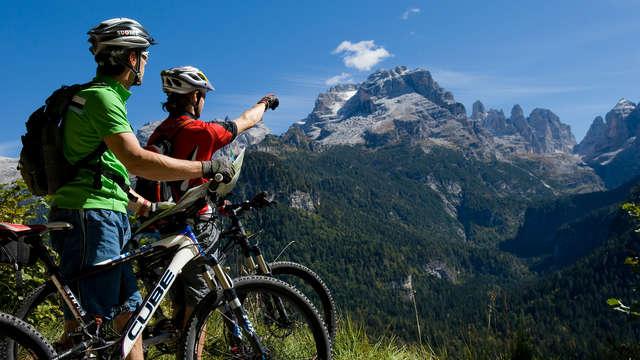 Séjour en pension complète dans les merveilleuses montagnes du Trentin