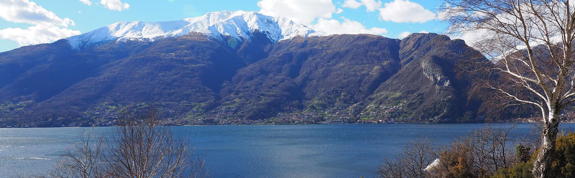 Oasis de paz en el lago de Como con la familia o amigos en un apartamento de dos habitaciones