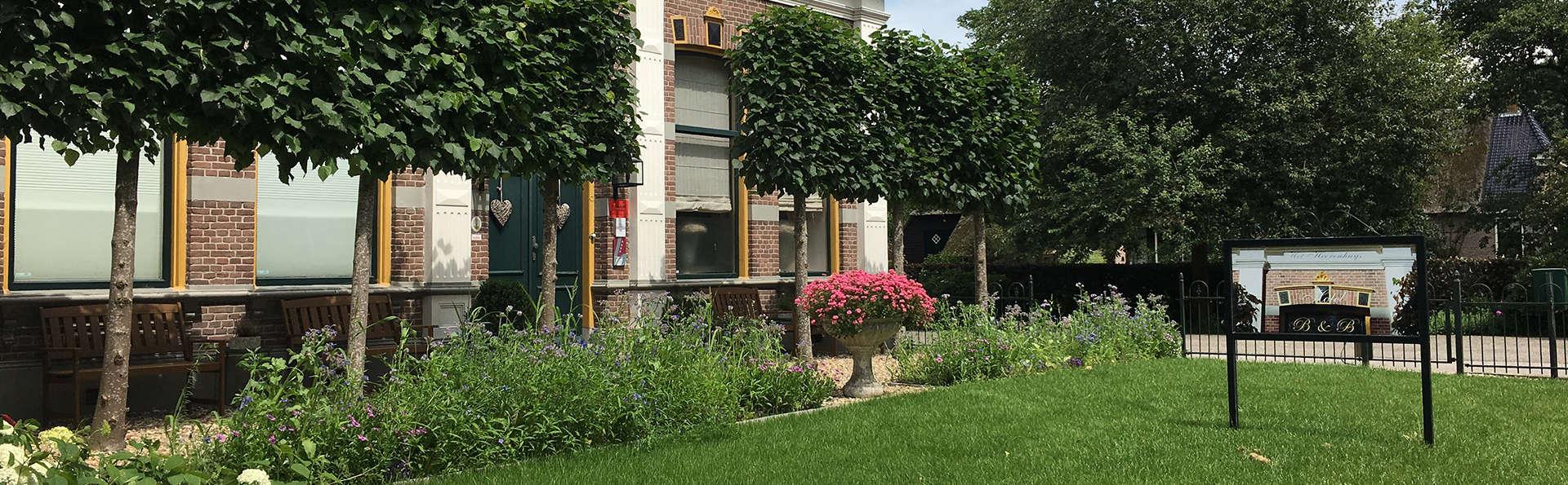 Romance et confort dans un bâtiment du 19ème siècle à Drenthe