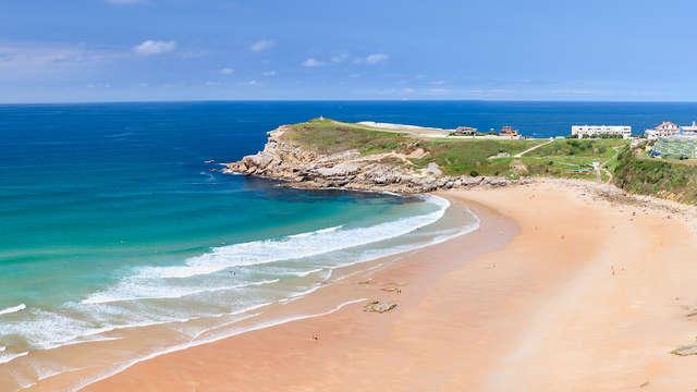 Visita Cantabria y disfruta de clases de surf en tienda deluxe (desde 2 noches)