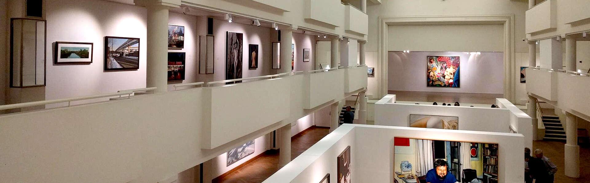 Escapade culturelle à Bruxelles avec entrées pour le musée Magritte