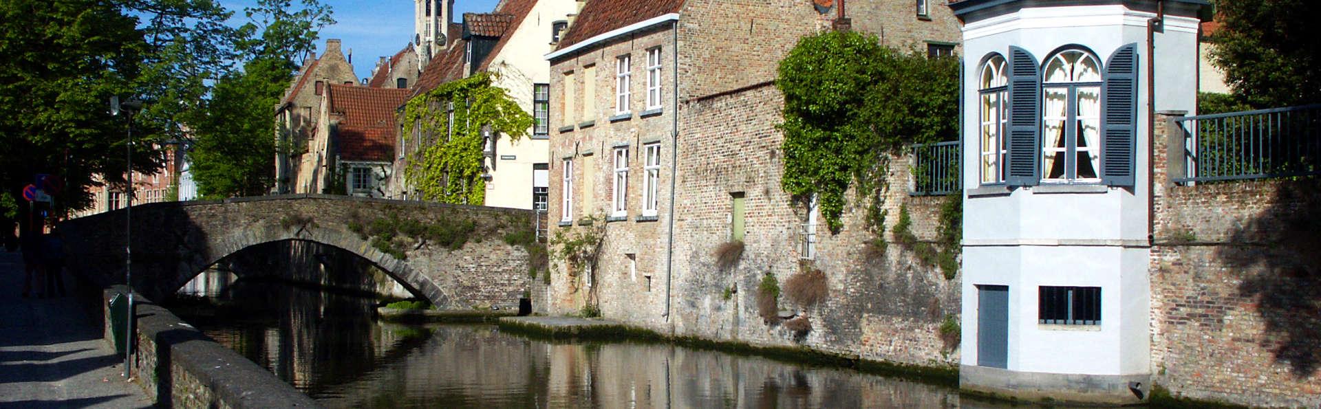 Culture, charme et vue sur les canaux au cœur de Bruges
