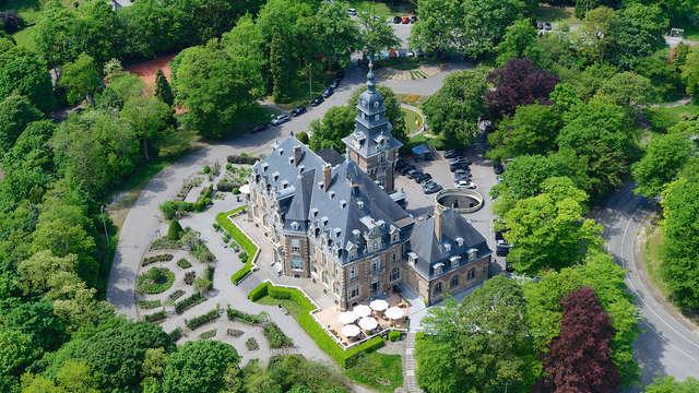 Romance en las estrellas con champán y estancia en un castillo