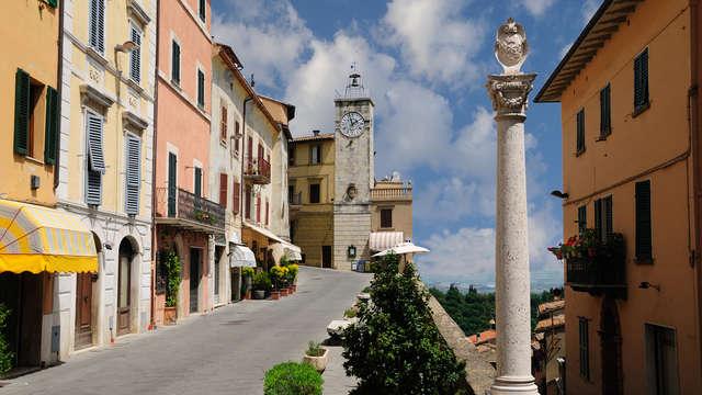 Alójate en Chianciano Terme en régimen de media pensión