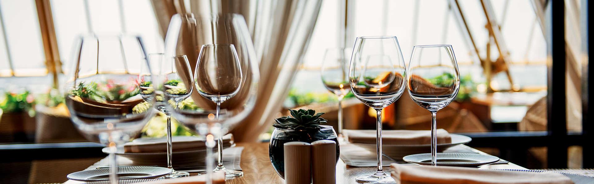 Dîner, détente et dégustation de vin au cœur des vignobles du Jura
