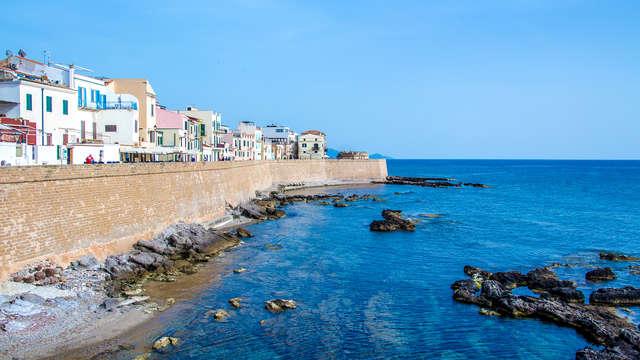 Bienestar en Alguer a un paso del mar de Cerdeña con ferry Grimaldi (9 días/7 noches)