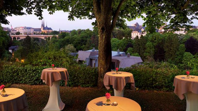 Charmant hotel met adembenemend uitzicht in het Groothertogdom (vanaf 2 nachten)