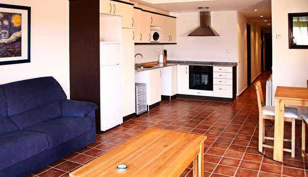 Apartamentos con encanto para 4 personas en la plaza mayor de Graus