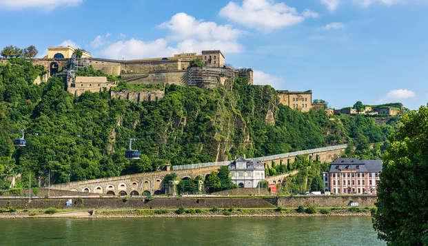 Weekendje weg nabij het prachtige Koblenz