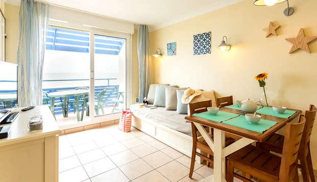 Disfruta en un apartamento a orillas del mar, con amigos o en familia, en Lacanau (desde 4 noches)
