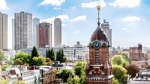 Découverte de la ville avec vue panoramique sur l'Euromast, le Spido et le Kunsthal de Rotterdam
