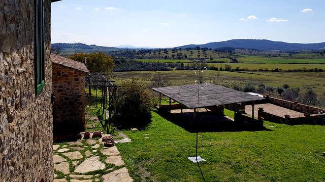 Laat alles even achter je en ontspan in een boerderij in Toscane