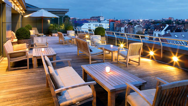 Reis naar een luxehotel in Brussel