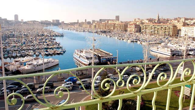Tappa idilliaca nel cuore del Porto vecchio di Marsiglia