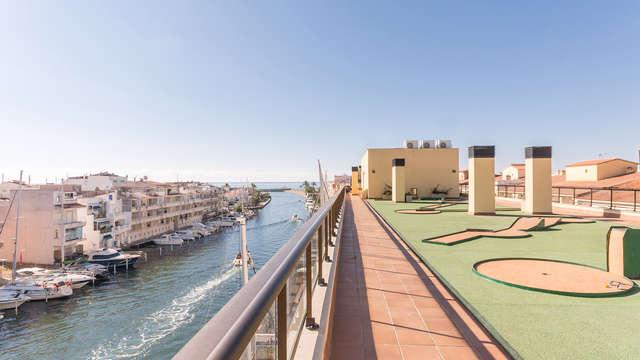 Découvrez la Venise Catalane en appartement de 4 personnes (à partir de 2 nuits)