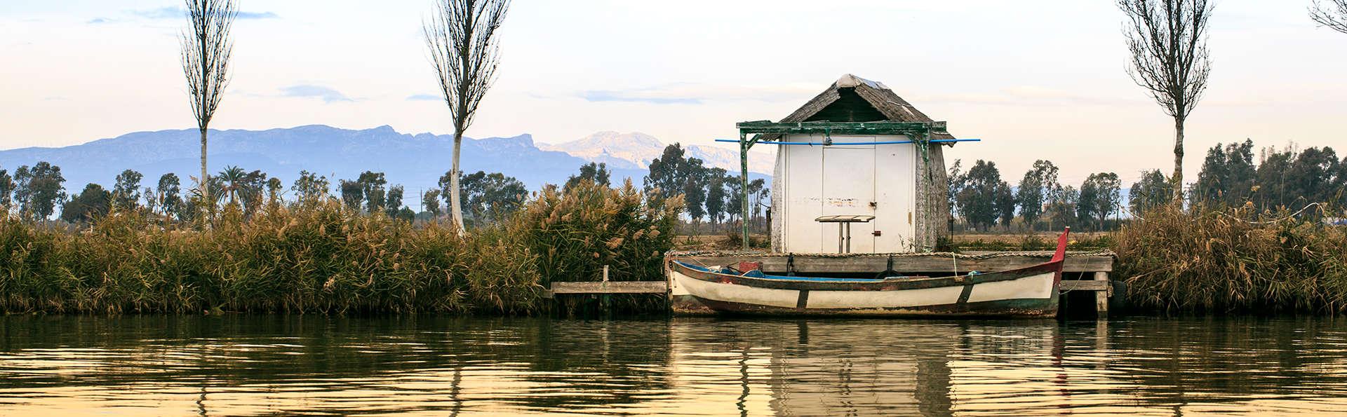 Pause de charme dans la réserve naturelle du delta de l'Ebre