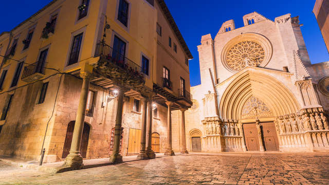 Descubre Tarragona: 3* entre el centro histórico y las playas