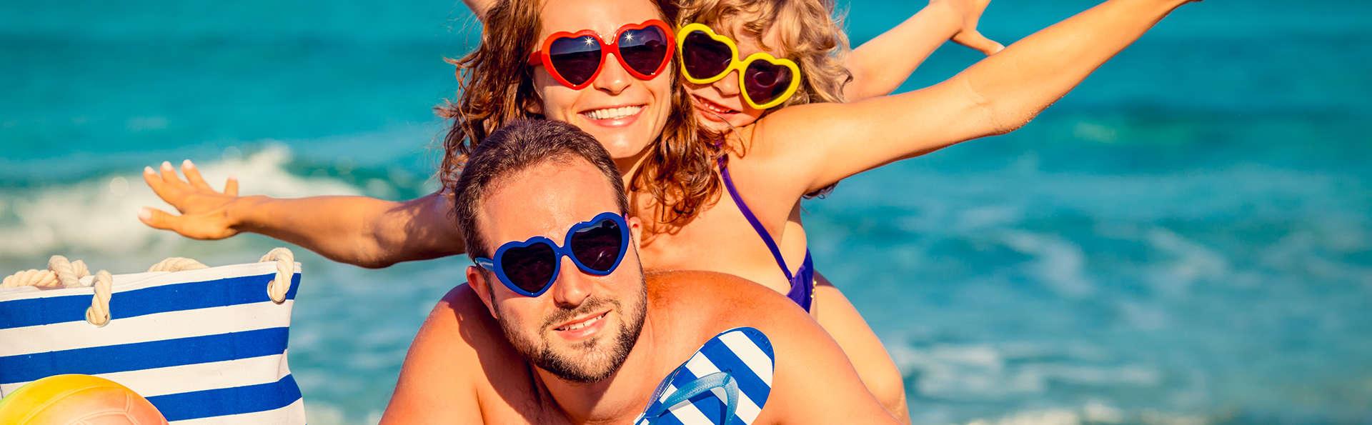 Escapade à la plage en famille, suite junior et demi-pension à Alcudia, Majorque