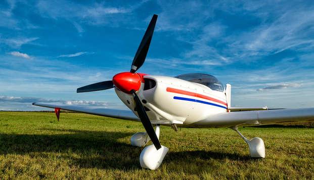 Vivez une expérience de vol en ultra-léger et découvrez Sant Cugat