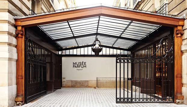 Fin d'année au Molitor et visite du Musée du parfum (20% de réduction sur la deuxième nuit)