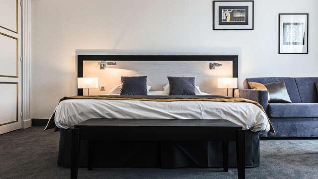 1 noche en habitación doble privilège vista a la ciudad para 2 adultos