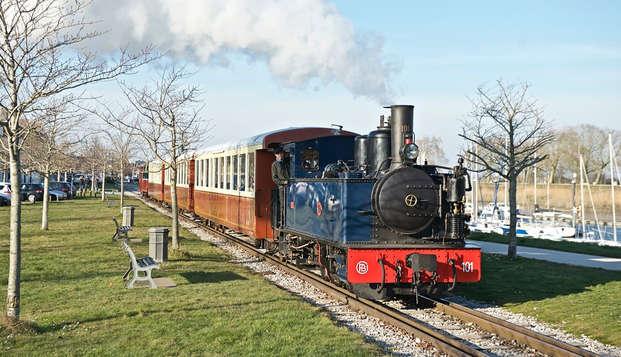 Week-end découverte avec visite en petit train de la Baie de Somme