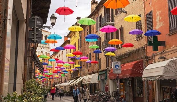 Soggiorno in incantevole 4* con vista castello di Ferrara