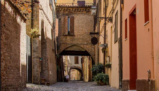 Soggiorno romantico nel cuore di Ferrara