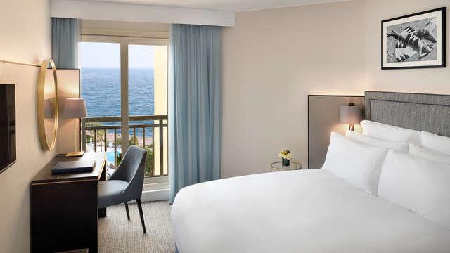 1 noche en habitación doble clásica vista al mar para 2 adultos